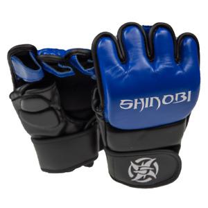 Shinobi Zero MMA Gloves - Black/Blue