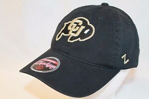 """Colorado Buffaloes Hat Cap """"The Game Day Relaxer Cap """"CU"""" by Zephyr NCAA Hats"""