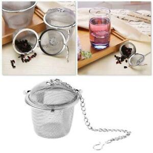Stainless Steel Tea Bag Squeezer Infuser Strainer Filter Steep Herbal Spice US