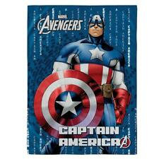 Plaid in pile Captain America Marvel di Bassetti 130x170 cm P229