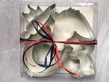 Lot Box of 6 Metal Horse Pony Cookie Cutters Head Carrot Heart Shoe Full Body