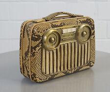 seltenes Akkord Pinguin M 55 Radio Röhrenradio Schlange Imitat Baujahr 1955 / 56