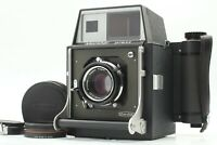 【Rare! w/ Tele Con Lens】 Marshal Press 6x9 Nikkor-Q 105mm f/3.5 Lens from JAPAN