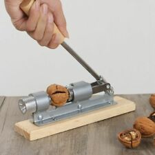 Nut Pecan Cracker Manual Stainless Steel Nutcracker Kitchen Opener Tool Gadget
