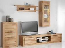 Moderne Wohnwände aus Massivholz mit Einlegeboden