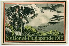 GERMANY 1912 National Flugspende Prinz heinrich von Preussen unused - tone spots