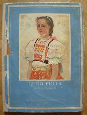 Ľudo Ludo Fulla mal'by a drevorezby Slovak painting art