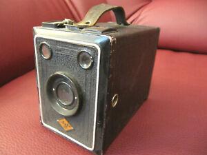 Agfa - Boxkamera in optisch sehr gutem Zustand, wie abgebildet