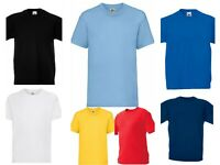 Boys Girls Kids Plain T Shirts Age 2Y to 15Y School P.E Top School Uniform