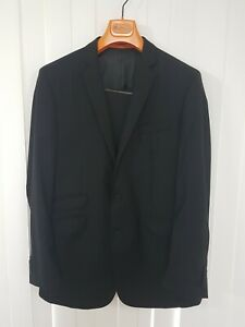 Ben Sherman Mens Black 2 Piece Suit 40R W33. As new condition.