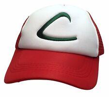 Pokemon Go ASH KETCHUM Logo Adjustable Snapback Cap/Hat
