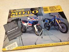 Revue moto technique Honda XRV 650 Yamaha 125 TZR DT 125 200 R ETAI N° 72 éd: 89