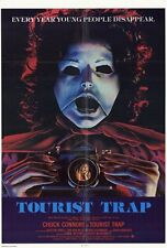 TOURIST TRAP Movie POSTER 27x40 Tanya Roberts Chuck Connors Robin Sherwood
