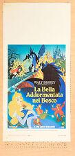 LOCANDINA, LA BELLA ADDORMENTATA NEL BOSCO Sleeping Beauty DISNEY ANIMAZIONE