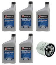 Idemitsu 10W-30 Rotary Racing Motor Oil 5 Quarts + Oil Filter fits Mazda RX8