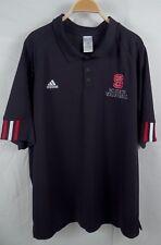 Mens NC State University Volleyball Short Sleeve Polo Golf Shirt Size 2XL XXL