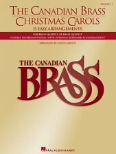 The Canadian Brass Christmas Carols 15 Easy Arrangements 2nd Trumpet 050484034