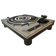 Technics SL 1200  Short Turntable Top Plate (brushed stainless steel)