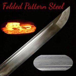 Silver Dragon Samurai Battle Sword Nihontou Katana Battle Steel Blade Sharp #601