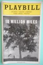 Matthew Morrison Mare Winningham  Playbill 10 Million Miles  2007  Patty Griffin
