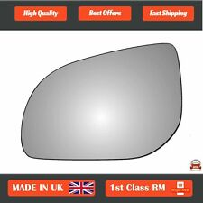 Silver Wide Angle Door Mirror Glass Including Base Plate LH Passenger Side MEB Class 2012 to 2017 Heated