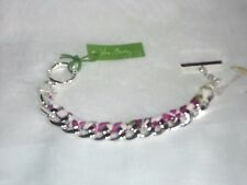 "Vera Bradley Braided Chain Bracelet in Julep Tulip 7 3/4"" and Woven Fabric $31"