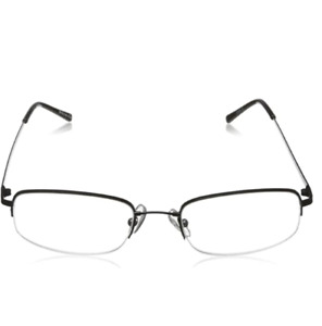 Foster Grant Reading Glasses Mens HF11 Gun Metal Readers +1.50 to +3.25 Strength
