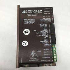 Advanced Motion Controls B12a6l Brushless Servo Motor Drive Amplifier 20 60vdc