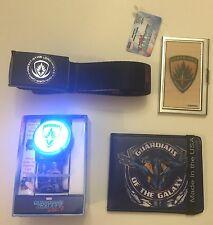 Marvel Lot:Guardians Galaxy Vol. 2: LED WATCH+WALLET+BELT+BUSINESS CARD HOLDER!