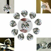 10 Clear Crystal Chandelier Ball Prism Rainbow Suncatcher Pendant Wedding Decor