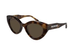 Balenciaga Occhiali da Sole BB0073S  002 Havana marrone