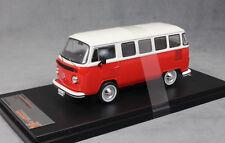 1/43 IXO Premium x VW T2 / T1 Brésilien 1976 Rouge/blanc Prd344