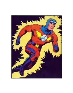 This is Captain Midnight! Fawcett Comics Golden Age style  Sericel