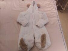 Spunky Kids baby furry teddy pram suit size 80cm