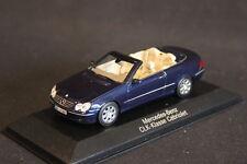 Minichamps (DV) Mercedes-Benz CLK-Klasse Cabriolet 1:43 Tansanitblau (JS)