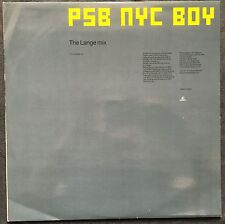 "Pet Shop Boys ‎12"" New York City Boy (The Lange Mix) - England (EX+/EX+)"