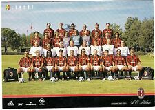 Cartolina Squadra AC Milan Stagione 2003/04