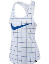 Nike Women's Net Tank Tennis Top Training Running Raceback Shirt 802524-101