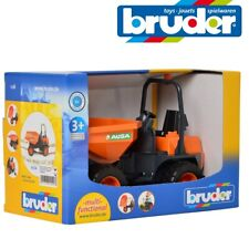 BRUDER TOYS AUSA DUMPER 02449 Pro Series Mini Tipping Bin Toy Model 1:16 02449