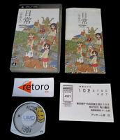 NICHIJOU: UCHUUJIN SONY PlayStation PSP Portable JAP Complete Free Region