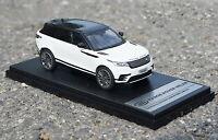 LCD 1/43 Scale Land Rover Range Rover Velar White SUV Diecast Car Model Toy