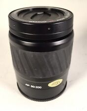 Nice MINOLTA AF 80-200mm f/4.5-5.6 TELEPHOTO ZOOM LENS FOR SONY A OR MAXXUM