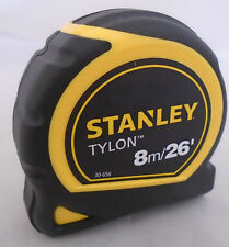 Stanley 8m/26ft Pocket Tape Measure with Tylon 1-30-656 NEW