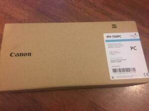 Genuine CANON PFI-704PC Photo Cyan Ink IPF8300 IPF8300S inc VAT