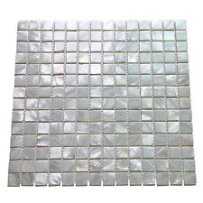 Oyster Mother of Peal Shell Mosaic Tile for Kitchen Backsplashes/Wash Room