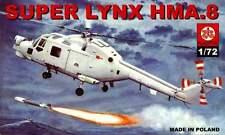 WESTLAND SUPER LYNX HMA 8 (ROYAL NAVY MARKINGS) 1/72 PLASTYK