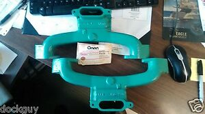 Onan Manifold, New Old Stock; Tag #15401376 cast # 170-2318