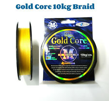 Braid Gold Core Fishing Braid Line 10kg 200mt