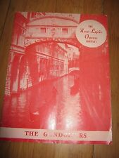 BELFAST OPERA HOUSE 1958 THEATRE PROG NEW LYRIC OPERA COMPANY WITH PHOTOS CAST