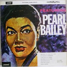 "Featuring Pearl Bailey 1964 LP 12"" 33rpm UK rare mono Summit vinyl record (nm)"
